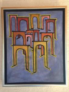 """Kopie von Paul Klee """"Revolution des Viadukts"""""""