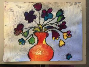 Blumenvase 1 (Abschnitt 3)