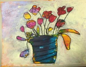 Blumenvase 4 (Abschnitt 3)