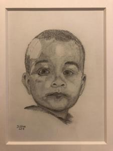 Porträt vom Kleinkind